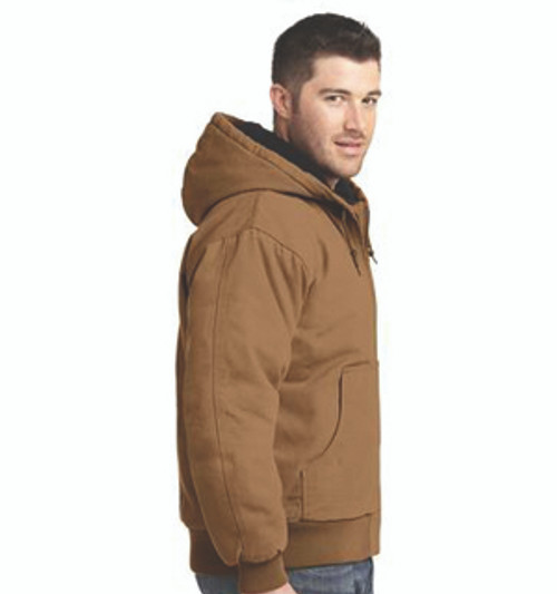 f5416c669b8 CSJ40  Washed Duck Cloth Flannel-Lined Work Jacket by CornerStone ...