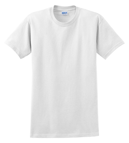 G2000T White T-Shirt Short Sleeve Tall by Gildan