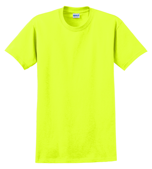 G2000T Safety Green T-Shirt Short Sleeve Tall by Gildan