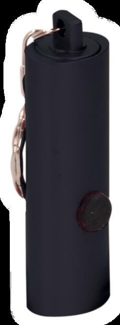 """GFT060-062 - 2 3/8"""" 3-LED Laserable Flashlight with Keychain"""