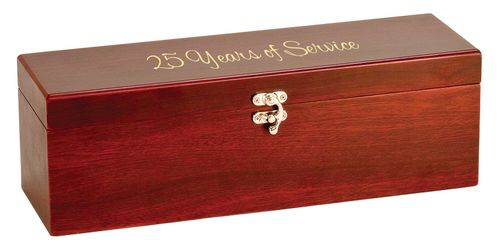 WBX11 - Rosewood Finish Single Wine Box with Tools
