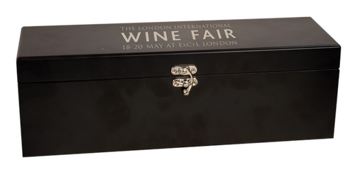 WBX21 - Matte Black Finish Single Wine Box with Tools