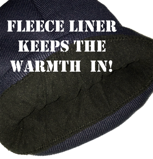 Fleece Liner Keeps the Warmth in!
