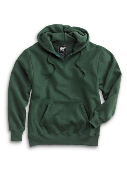 1000: Heavyweight Hoody by White Bear™ Clothing Co. in Forest