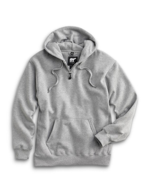 1000: Heavyweight Hoody by White Bear™ Clothing Co. in Athletic Heather
