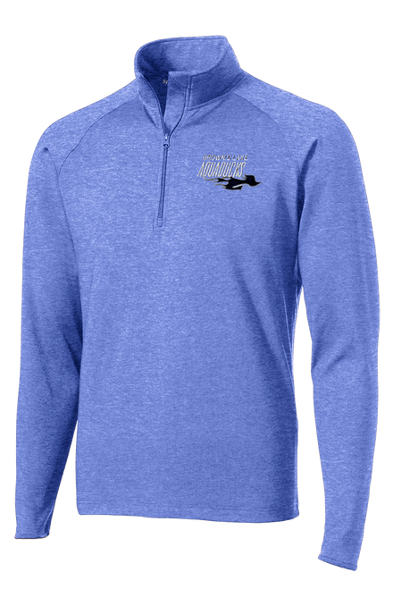 AQ-ST850: Sport-Wick Stretch 1/2-Zip Embroidered Pullover by Sport-Tek