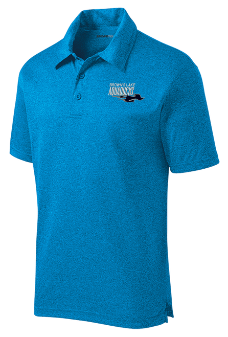 AQ-ST660: Heather Contender Embroidered Polo by Sport-Tek