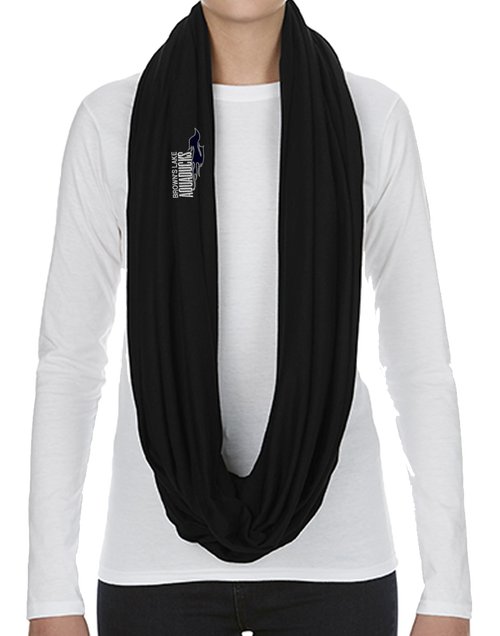 AQ-S100: Infinity Embroidered Scarf by Anvil