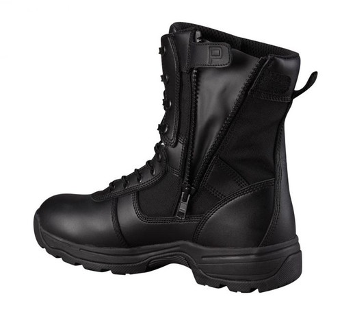 F4520: Series 100 Black 8in Waterproof Side Zip Boot by Propper