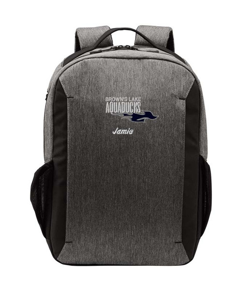 AQ-BG209: Embroidered Vector Backpack by Port Authority