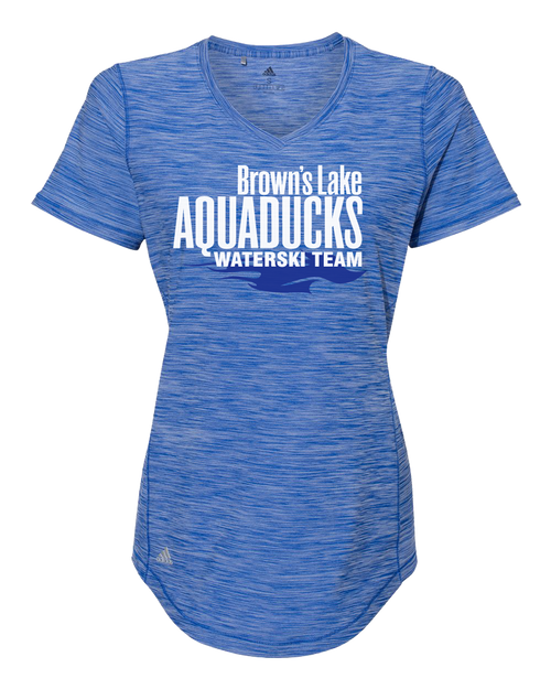AQ-A373 Ladies V-Neck Tech Tee by Adidas