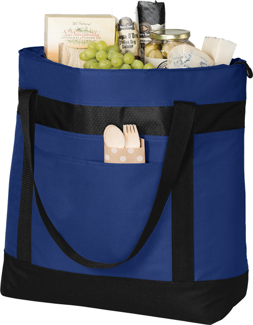 AQ-BG527 Royal Blue Large Tote Cooler Port Authority