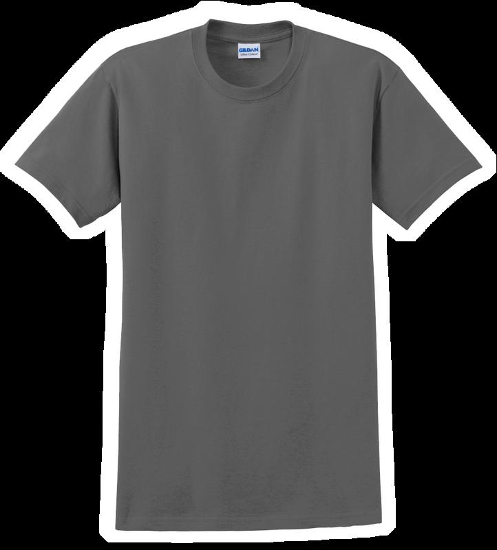 G2000T Charcoal T-Shirt Short Sleeve Tall by Gildan