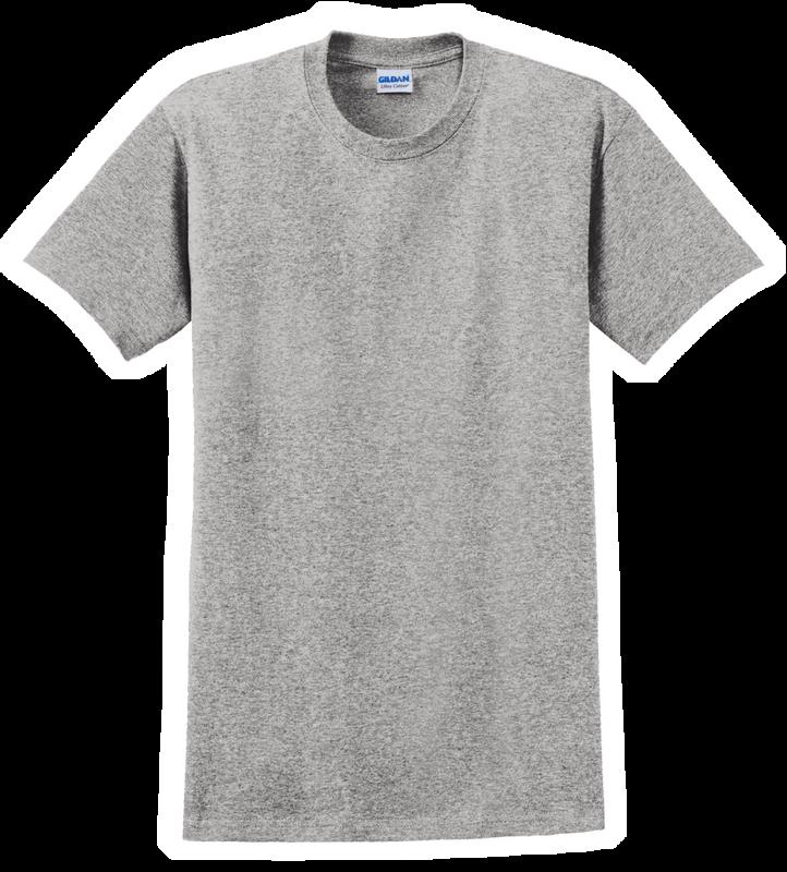 G2000T Sport Grey T-Shirt Short Sleeve Tall by Gildan