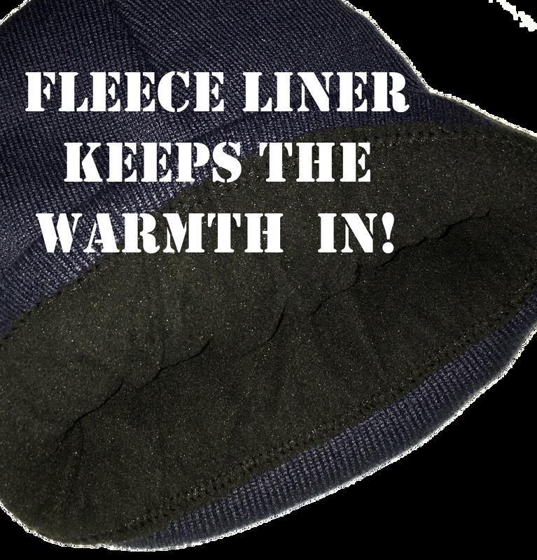 Fleece Liner Keeps the Warmth in!