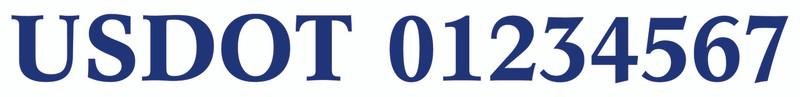 Blue - Dutch Font
