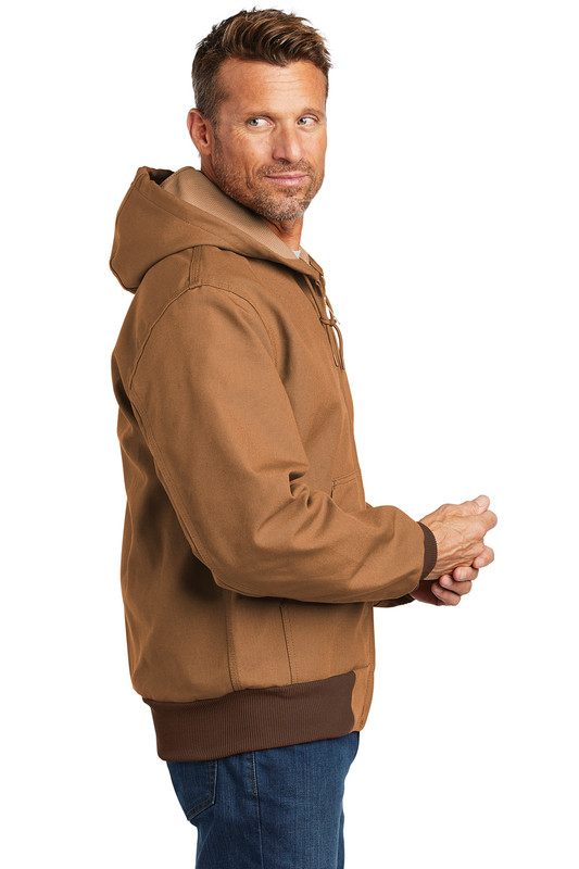 CTJ131 Carhartt Brown Model Side