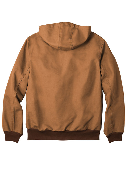 CTJ131 Carhartt Brown Back