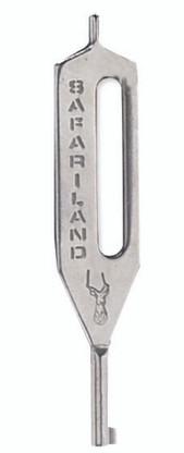Hk 10 Handcuff Key Silver Eagle Media Inc