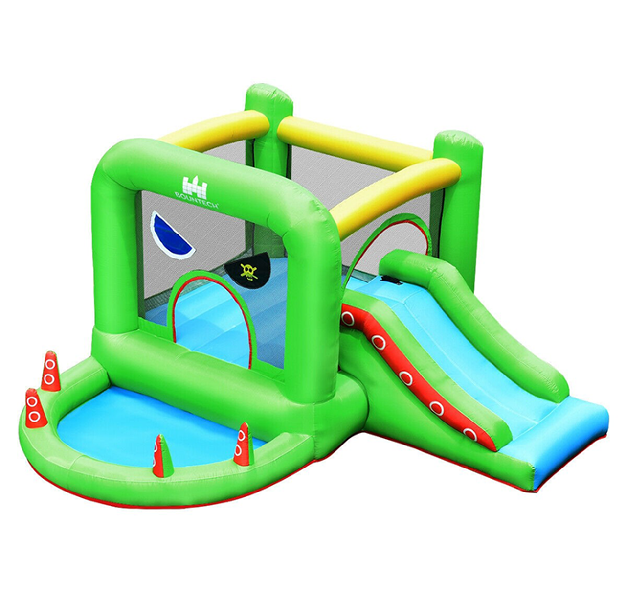 Portable Pirate Style Inflatable Bounce House! 9.99 (REG 9.99) + Free Shipping at Until Gone!