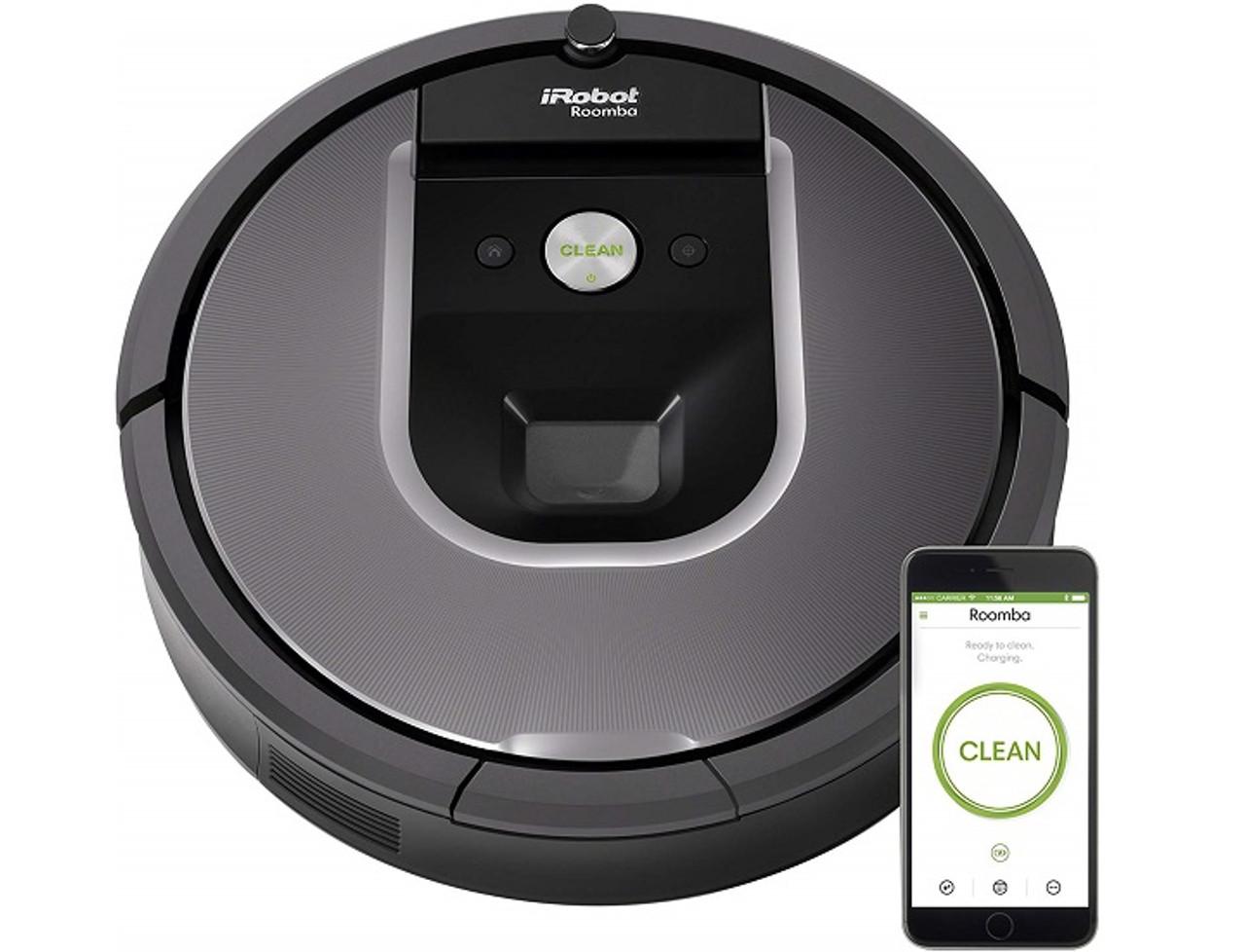 iRobot Roomba 960 Smart Robot Vacuum with Auto-Charging Dock $289.99 (59% OFF)