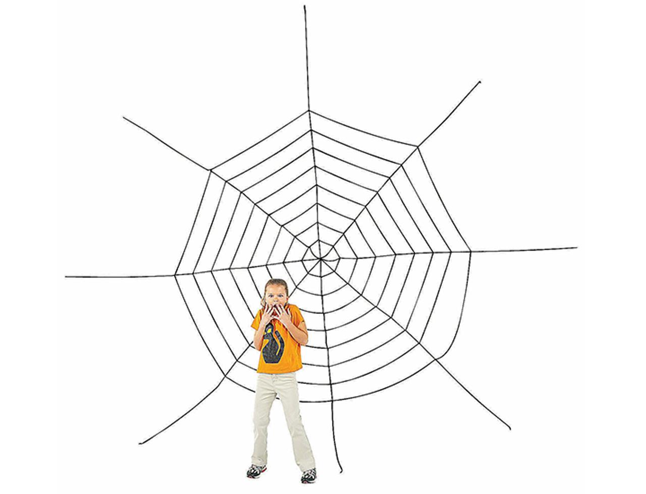 Jumbo 11-Foot Spiderweb Creepy Halloween Decoration! .99 (REG .99) at Until Gone!