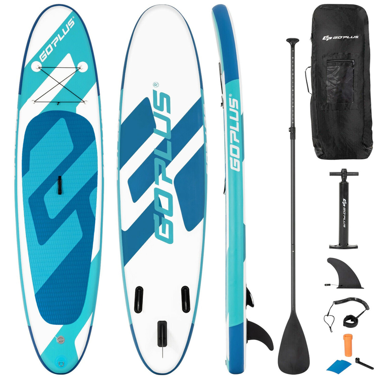 Inflatable 10-Foot Stand-up Paddle Board! 4.99 (REG 9.99) + Free Shipping at Until Gone!
