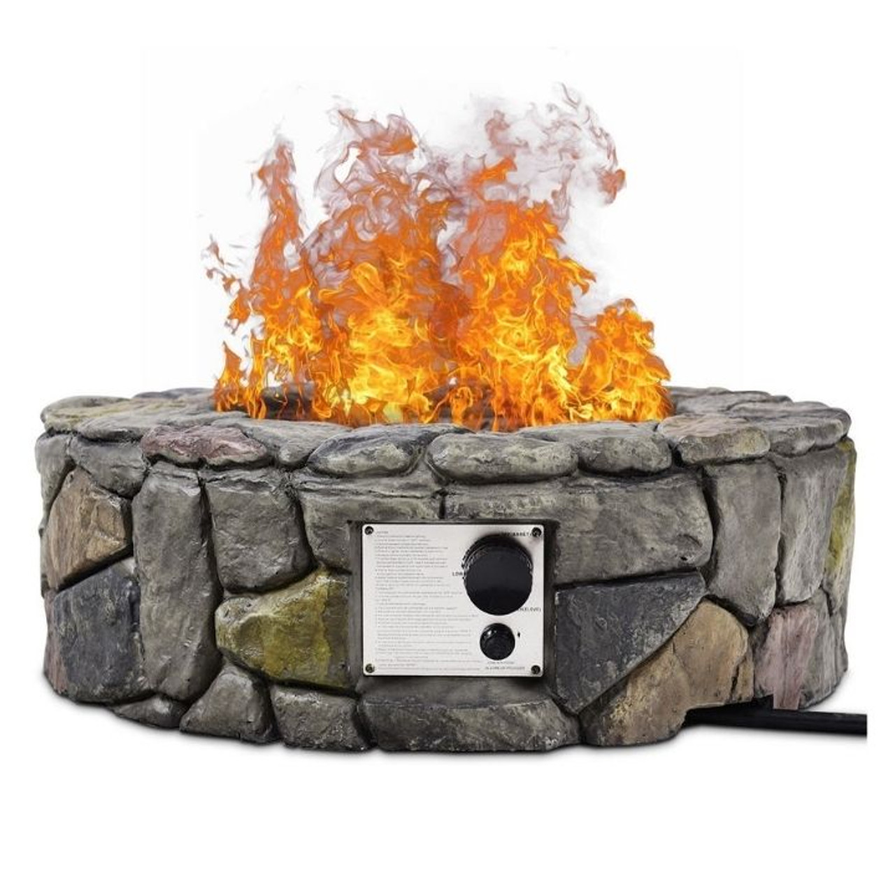 Stone Finish 28″ Propane Gas Fire Pit! 7.99 (REG 9.99) + Free Shipping at Until Gone!