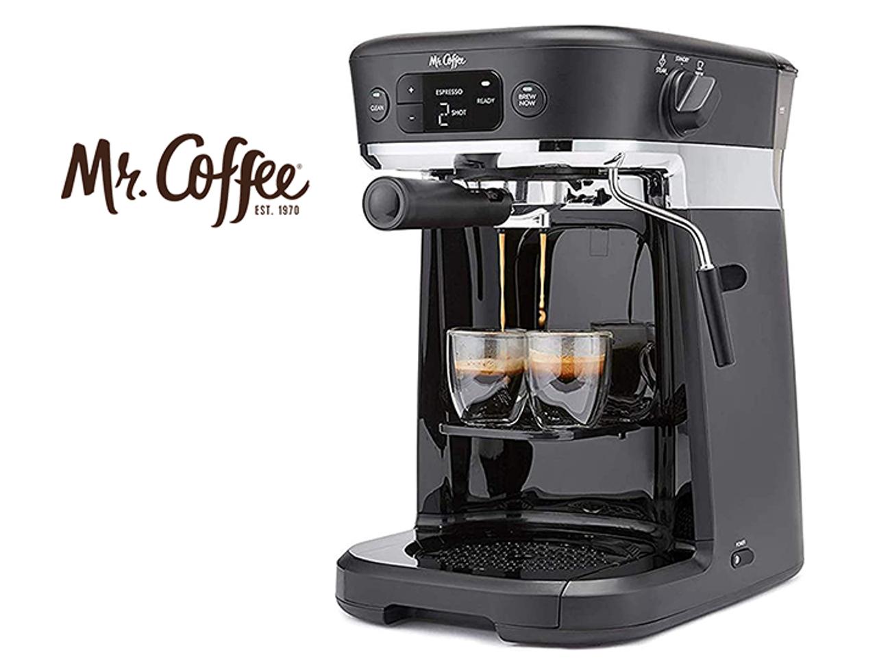 Mr. Coffee Occasions All-in-One K-Cup Pod & Espresso Maker