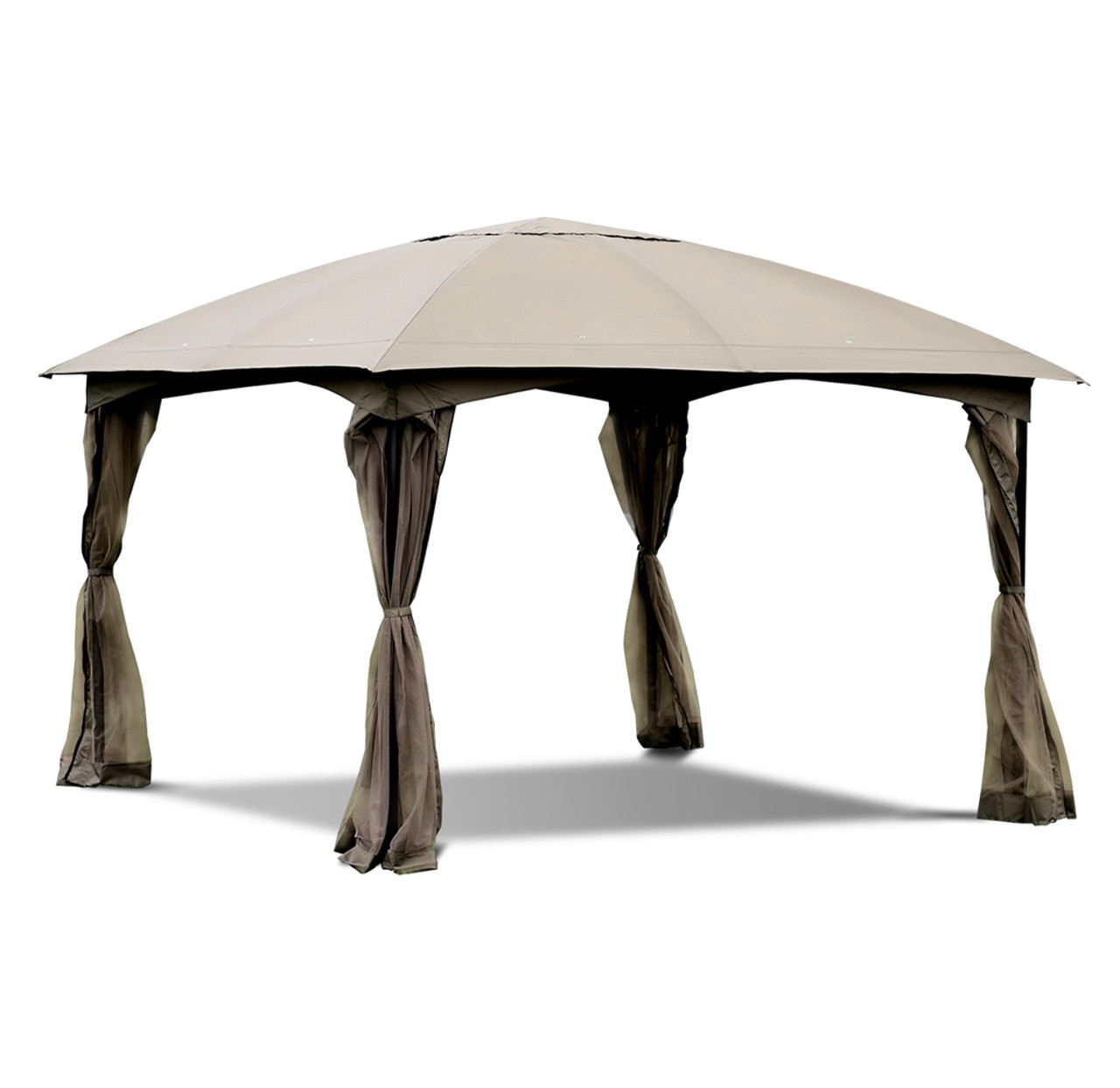 Netted 11.5-Foot Patio Gazebo! 9.99 (REG 6.95) + Free Shipping at Until Gone!