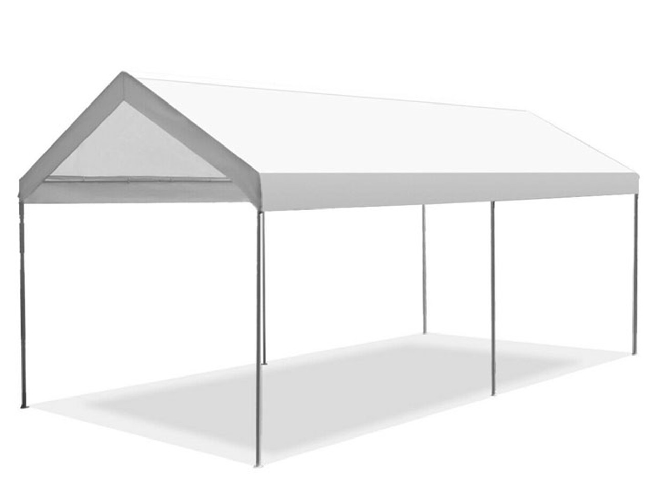 "Gymax Steel Frame Portable 10"" x 20'"" Car Carport Garage Cover"