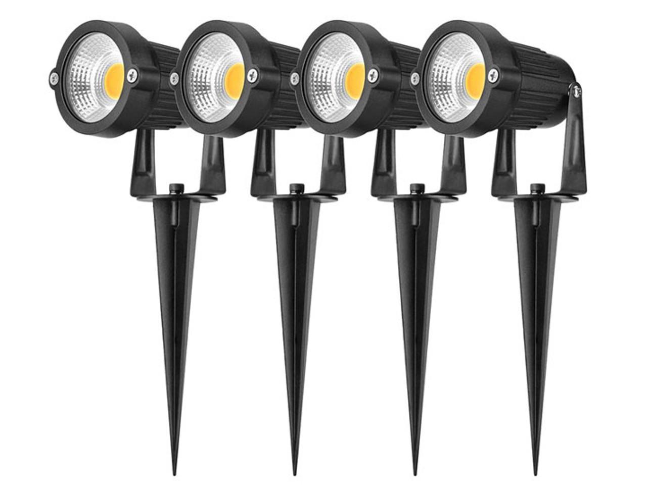 4-Pack Altatac Waterproof 5W Ultra-Bright LED Landscape Light
