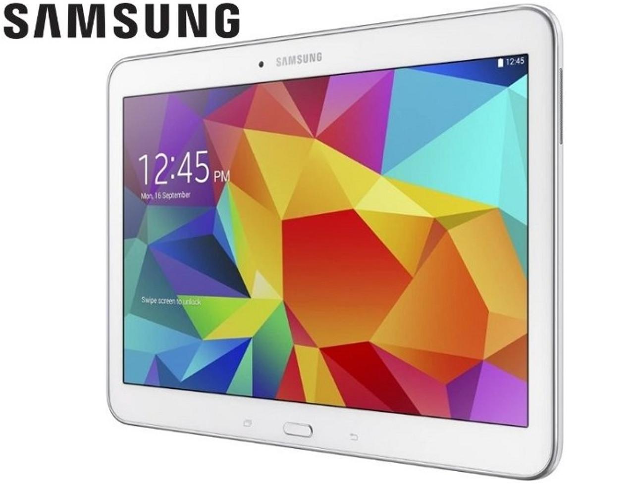 "Samsung Galaxy Tab 4 with 10.1"" HD Display (16GB White) $109.99 (63% OFF)"