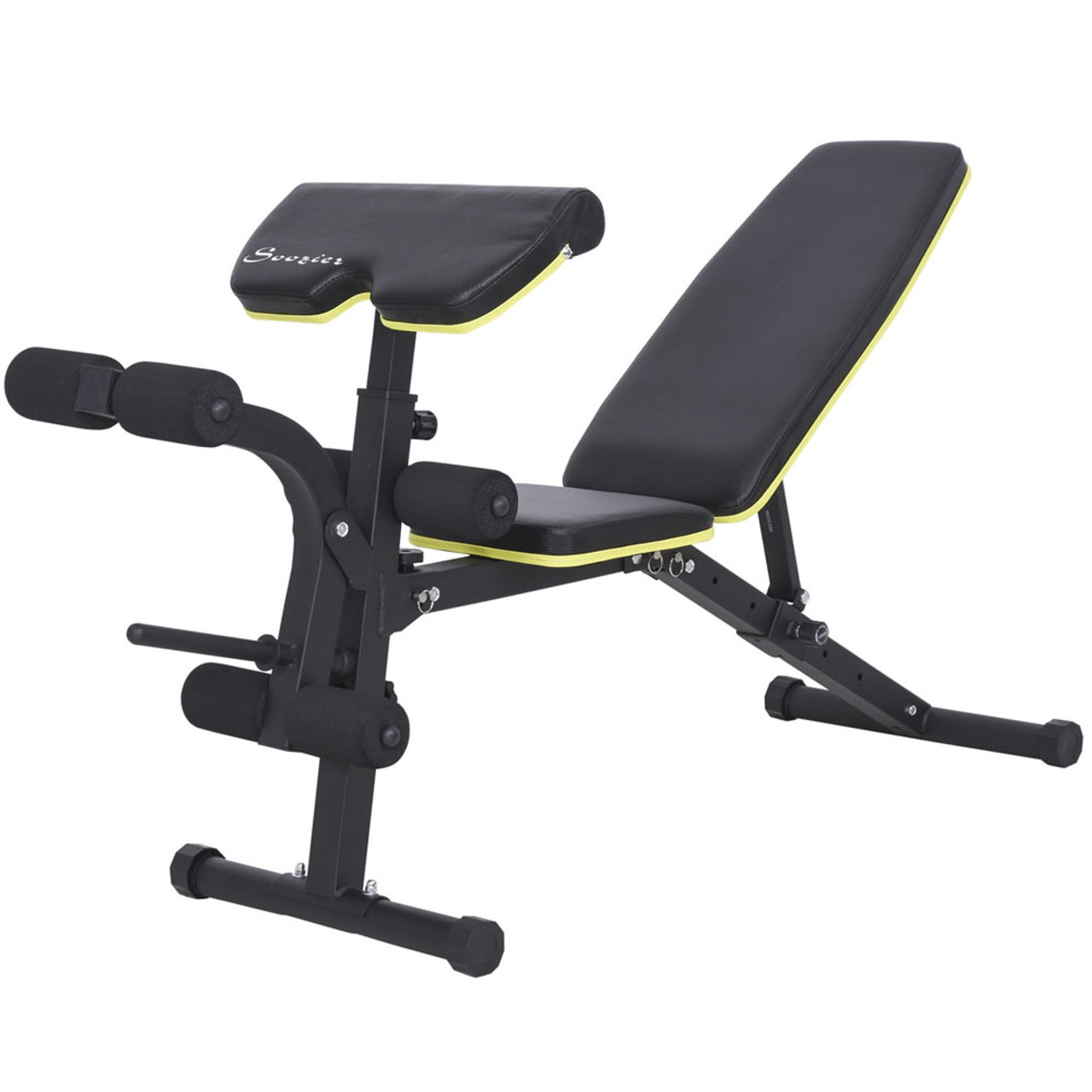 Adjustable Sit-Up Dumbbell Bench
