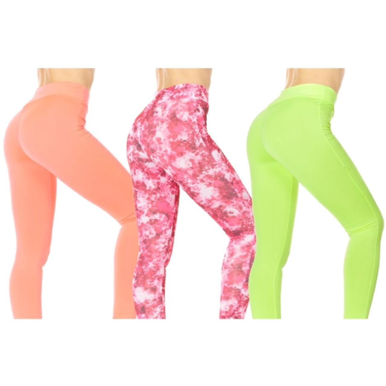 Women's Neon Active Leggings