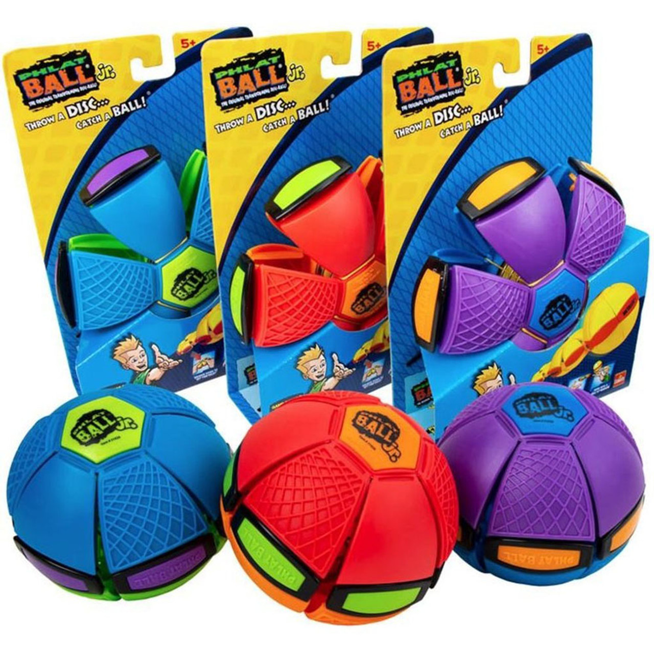 Goliath Sports Phlat Ball Jr. Transforming Disc Ball