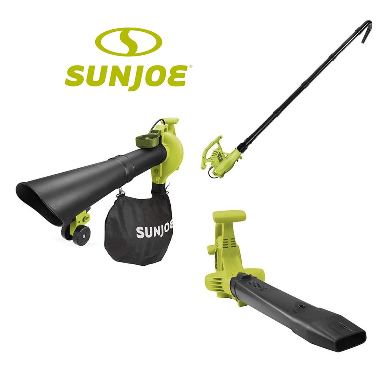 Sun Joe 4-in-1 Electric Blower, Leaf Vacuum, Mulcher & Gutter Cleaner $59.99 54% OFF