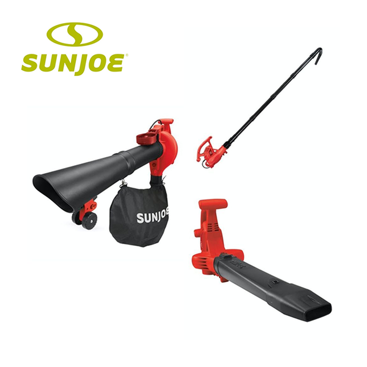 Sun Joe: 4-in-1 Electric Blower, Leaf Vacuum, Mulcher & Gutter Cleaner! .99 (REG 9.99) + Free Shipping at Until Gone!