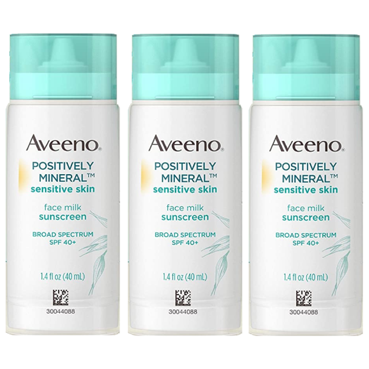 Aveeno Positively Mineral Sensitive Skin SPF 40 Sunscreen: 3 Pack! .99 at UntilGone!