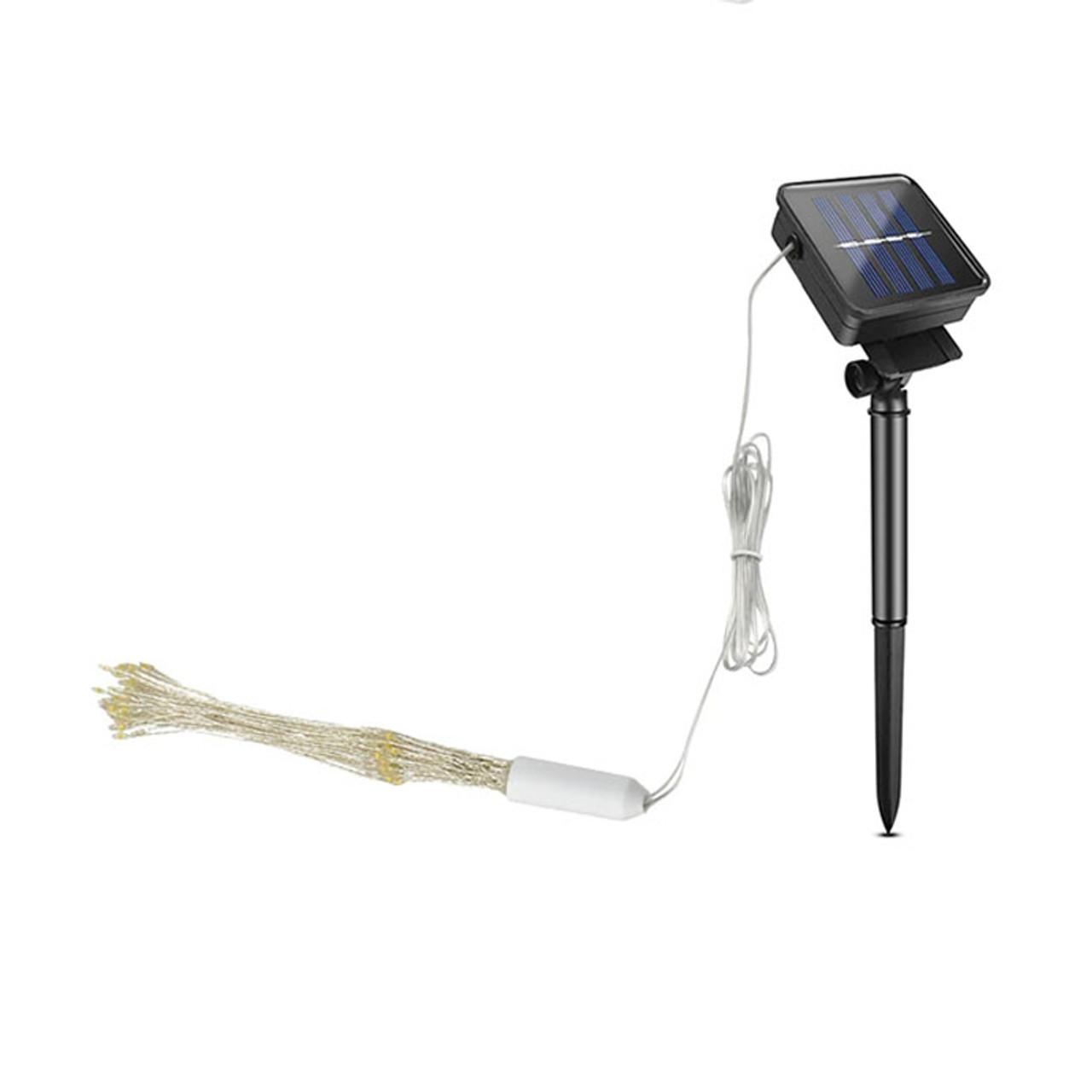 2-Pack Fireworks Solar String Light