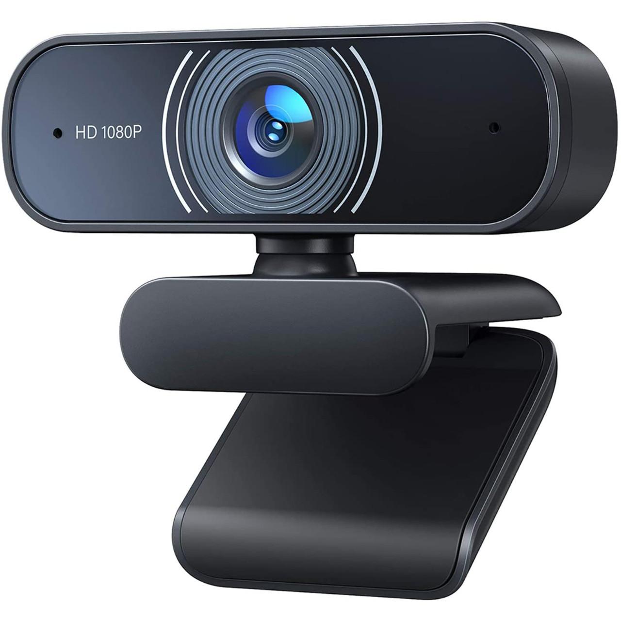 Relano Dual Microphone 1080p Webcam $13.99 (80% OFF)