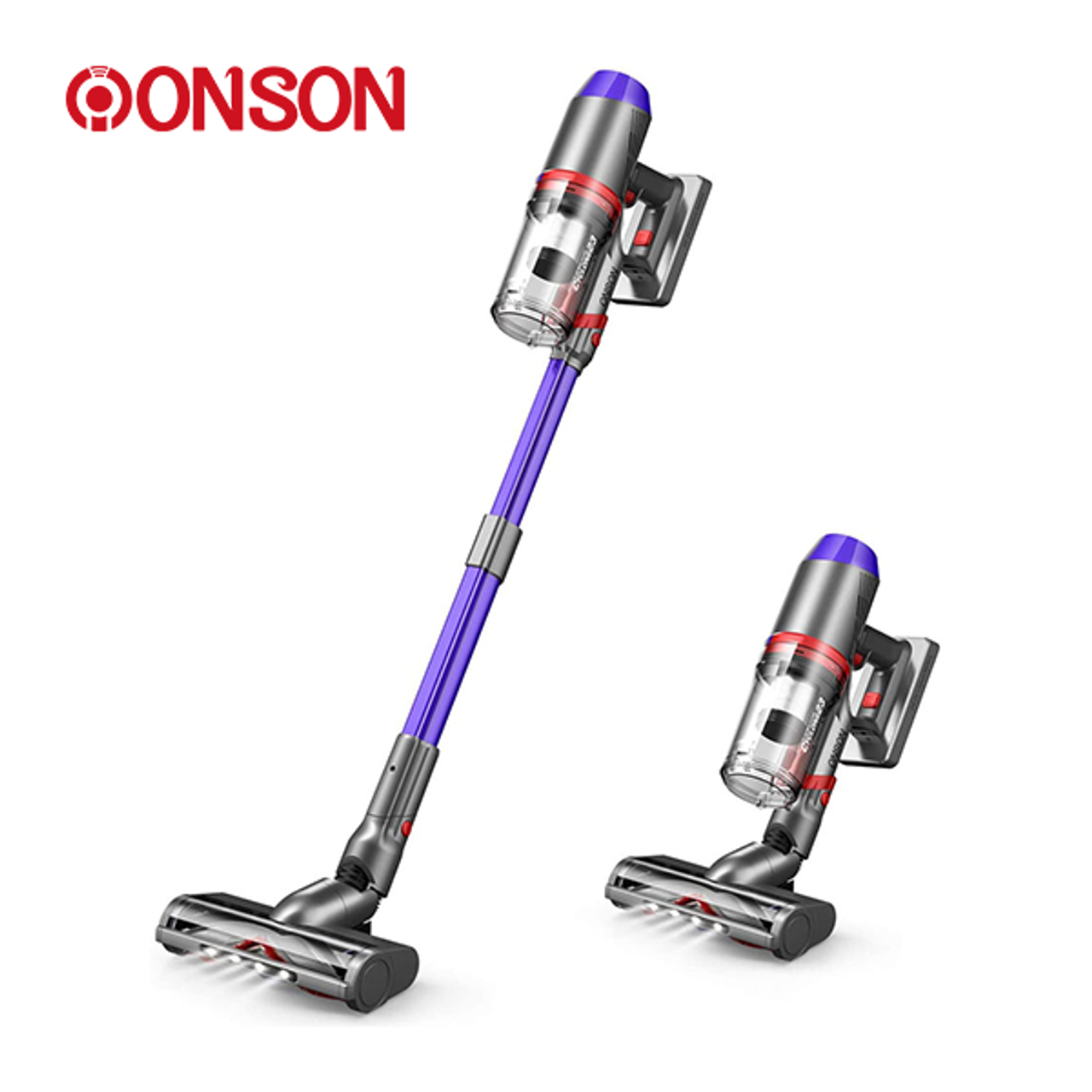ONSON: Pro Cordless Stick Vacuum Cleaner with LED Roller Brush! 9.99 (REG 9.99) + Free Shipping at Until Gone!
