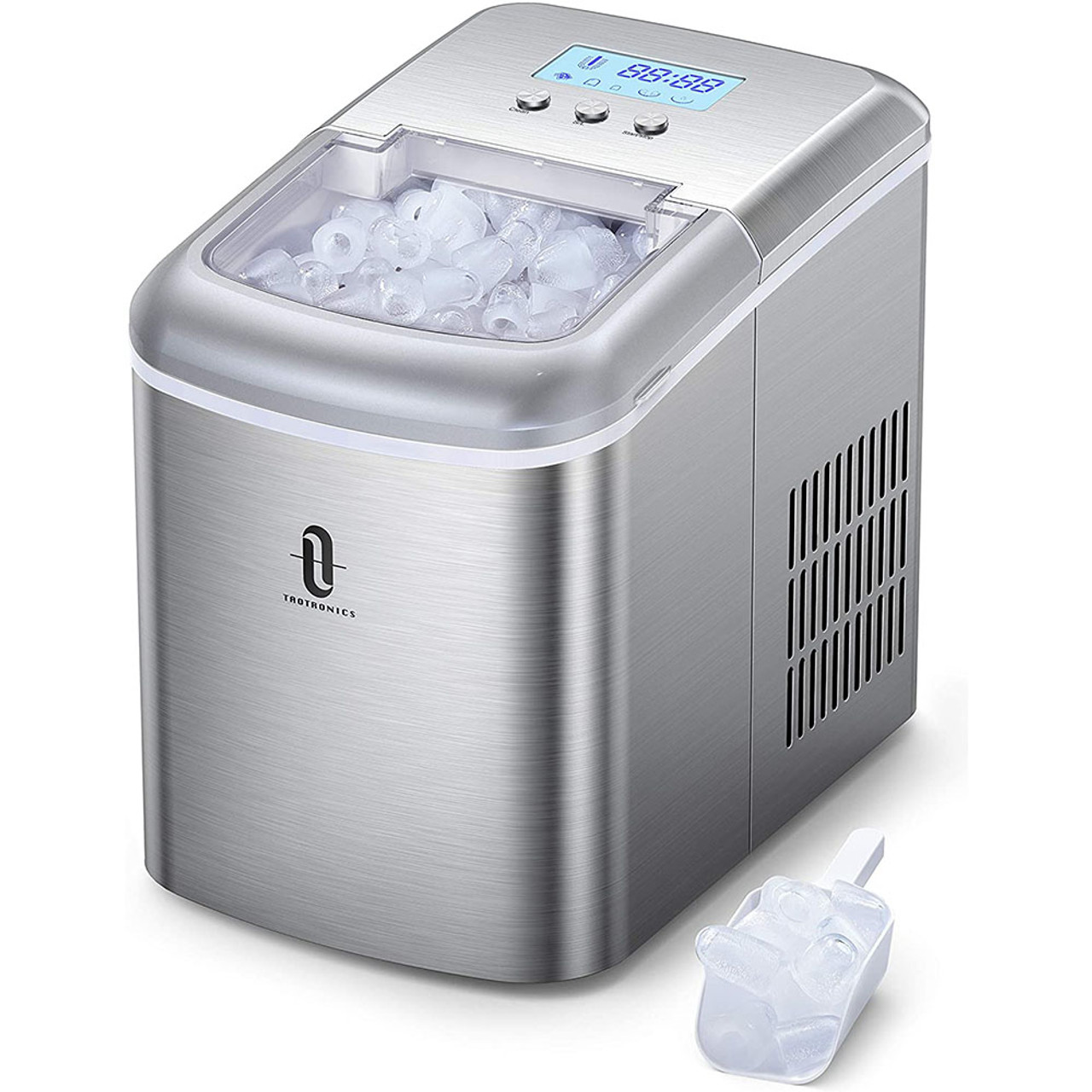TaoTronics Countertop Ice Maker with LCD Display $89.99 (55% OFF)