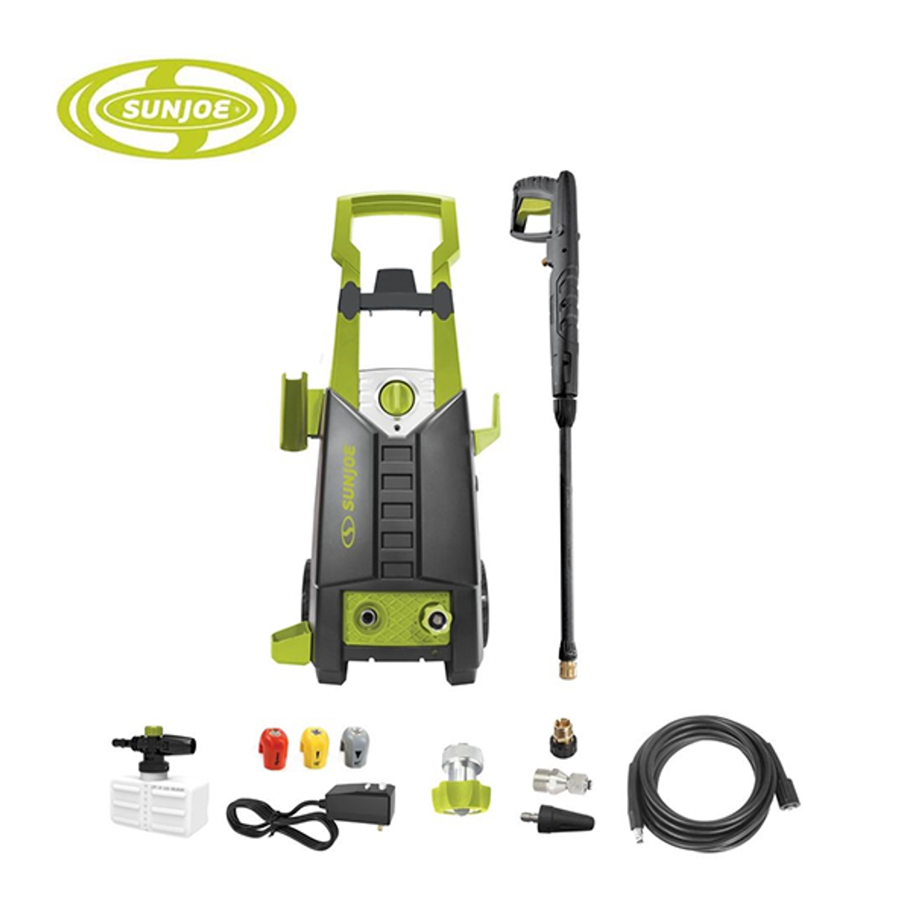 Sun Joe 2050 PSI Pressure Washer with Extension Wand & Foam Cannon $99.99 (50% OFF)