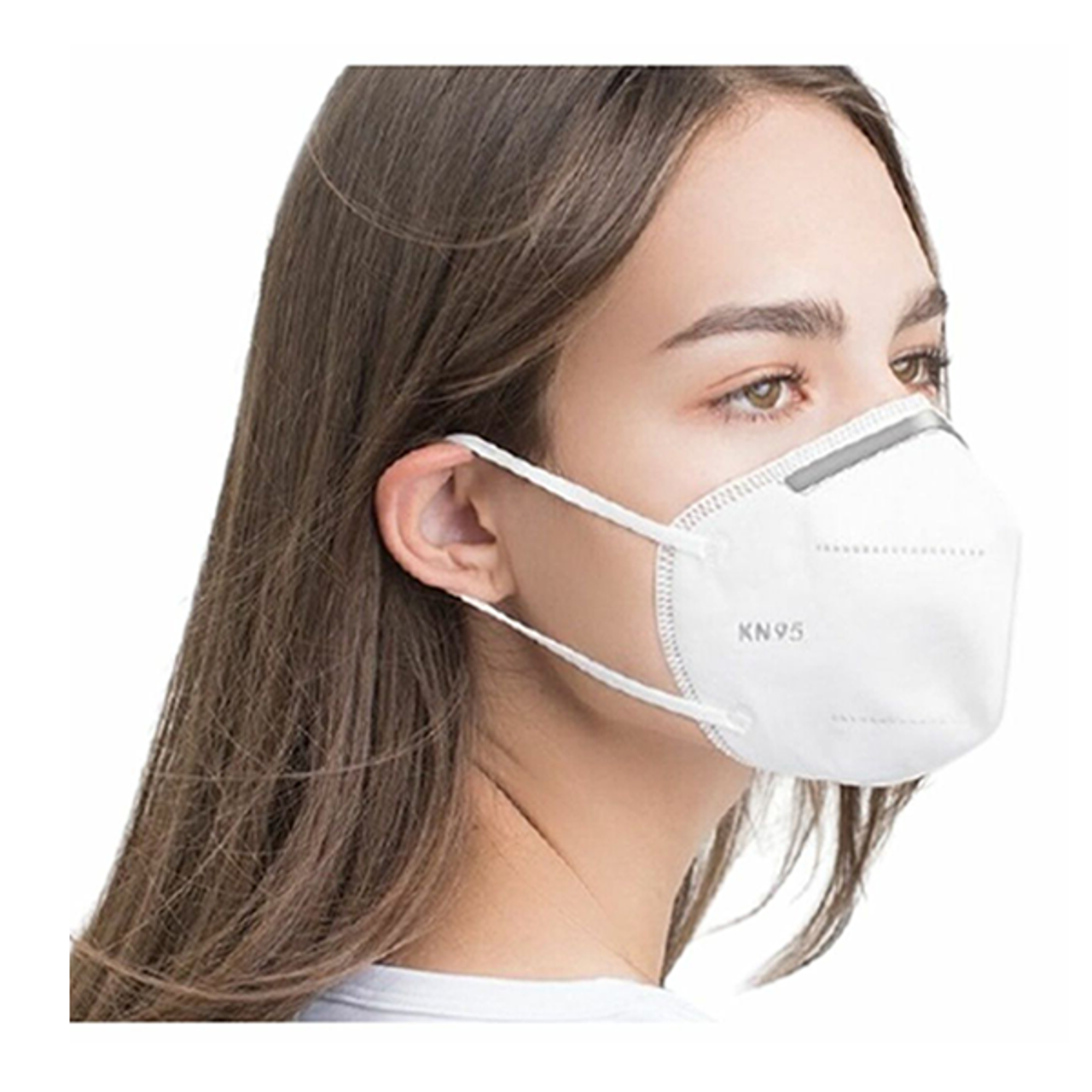 100-KN95 Disposable Protective Face Mask with 5-Ply Protection $14.99 (85% OFF)