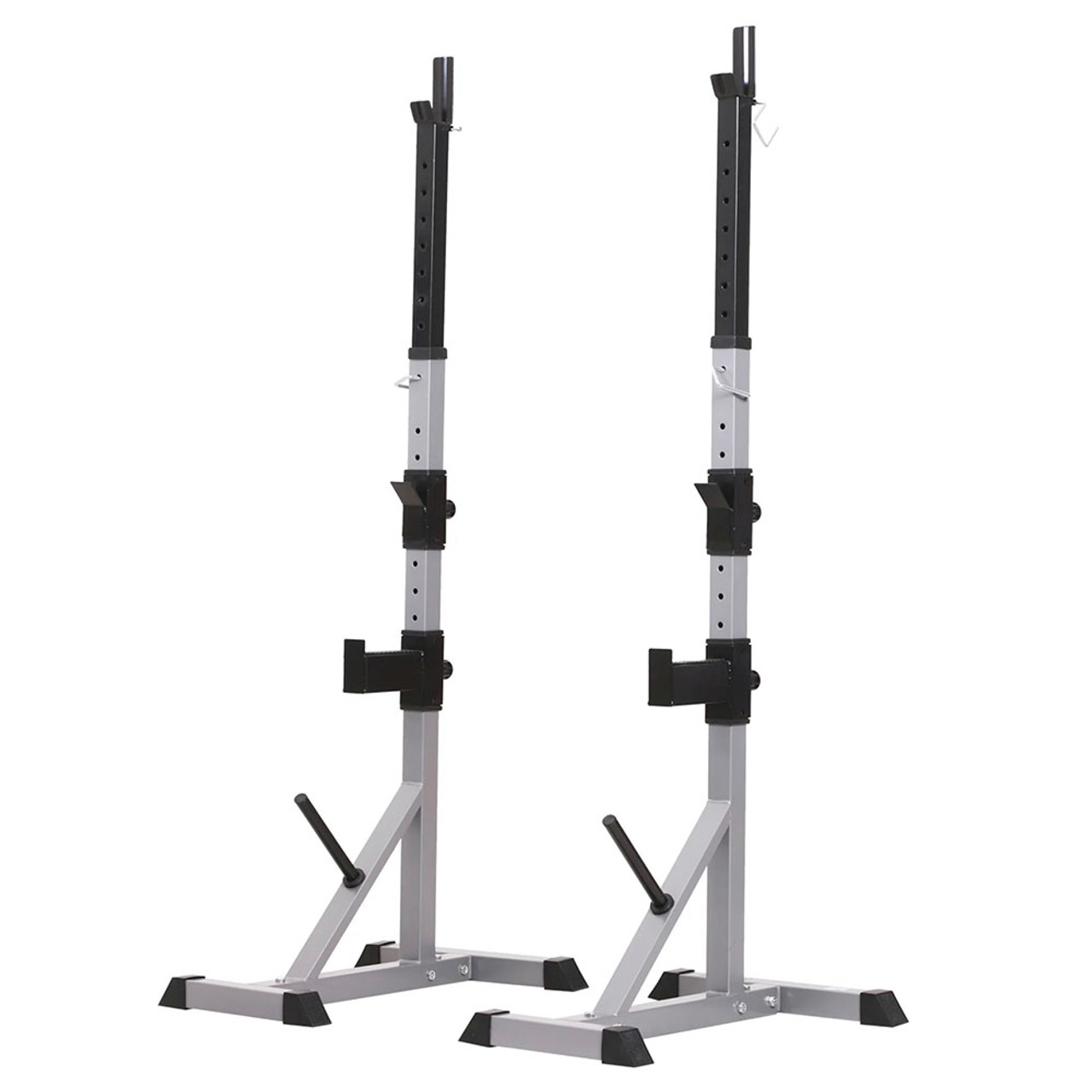 Adjustable Barbell Squat and Bench Press Rack! .99 (REG 9.99) + Free Shipping at Until Gone!
