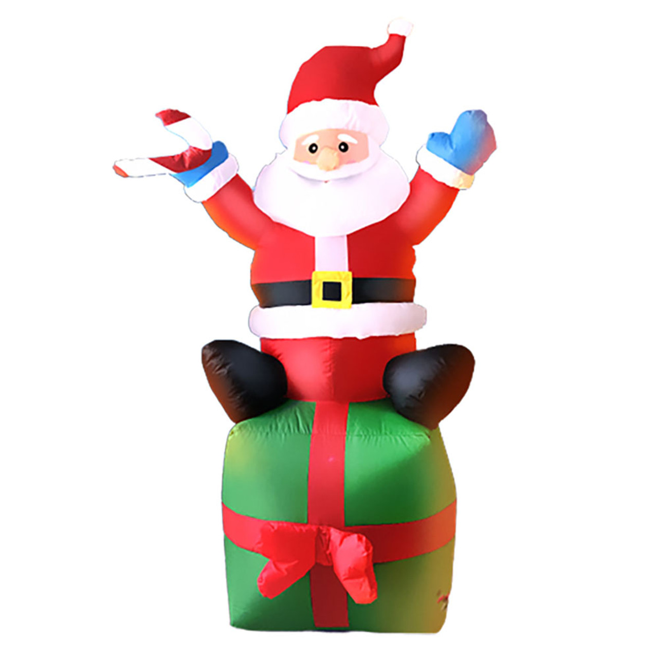 6-Foot Inflatable Santa Claus on Christmas Present! .99 (REG .99) + Free Shipping at Until Gone!