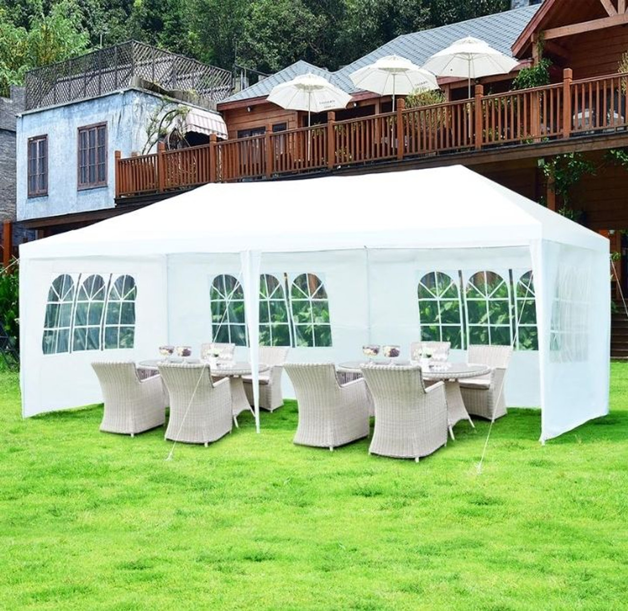Heavy Duty 10′ x 20′ Canopy Tent with 4 Walls! 9.99 (REG 9.99) + Free Shipping at Until Gone!