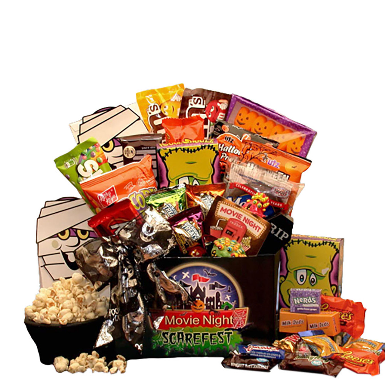 Halloween Spook-fest Movie Gift Box with $5 Redbox Card