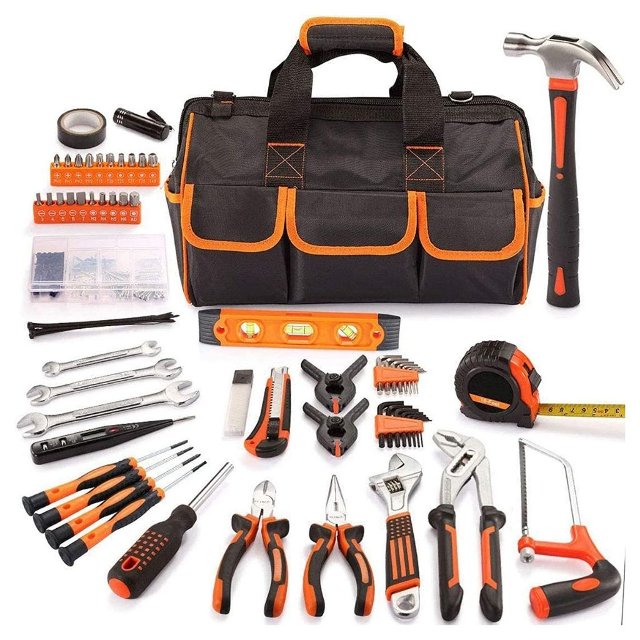 169-Piece Premium Tool Kit with 16-Inch Tool Bag $49.99 (44% OFF)